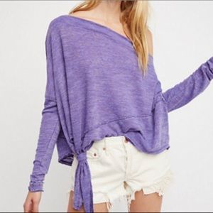 Free People Tops - Free People 🕊 long sleeve shirt